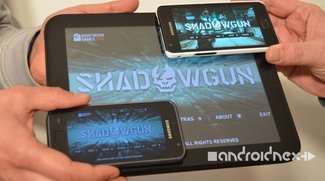 Shadowgun: Samsung Galaxy S, S2 und HP-Touchpad im Video-Vergleich