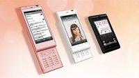 Sharp IS14H: Schicker Android-Slider mit numerischer Tastatur