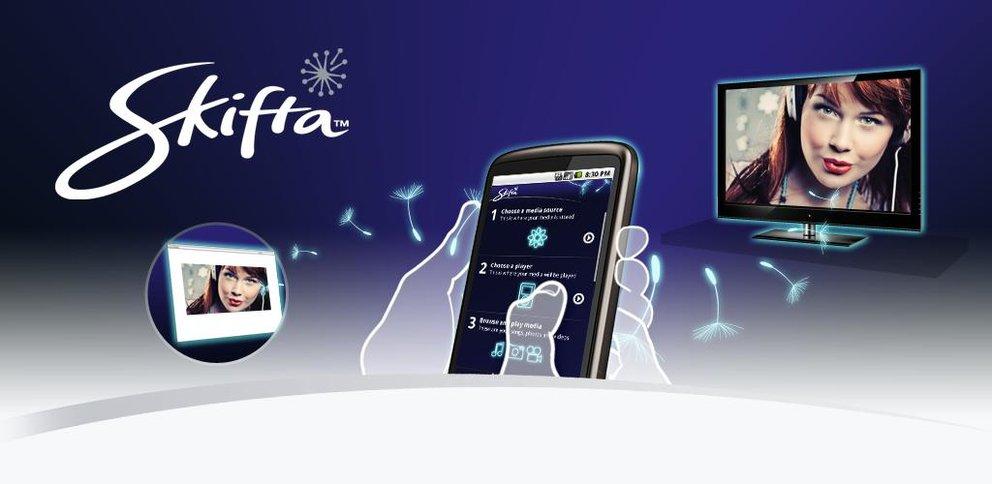 Skifta: Musik und Videos streamen im lokalen Netzwerk per DLNA