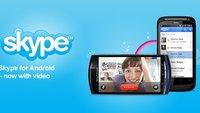 Skype für Android Version 2.5 unterstützt nun Tablets, Querformat ... und Werbung