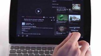 Asus Eee Pad Slider im Unboxing-Video