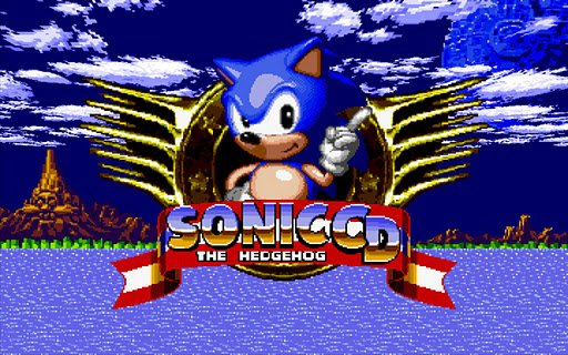 Sonic CD ist im Market erhältlich