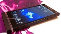 Sony Ericsson Nozomi: Neue Bilder des stylischen Dual Core-Smartphones