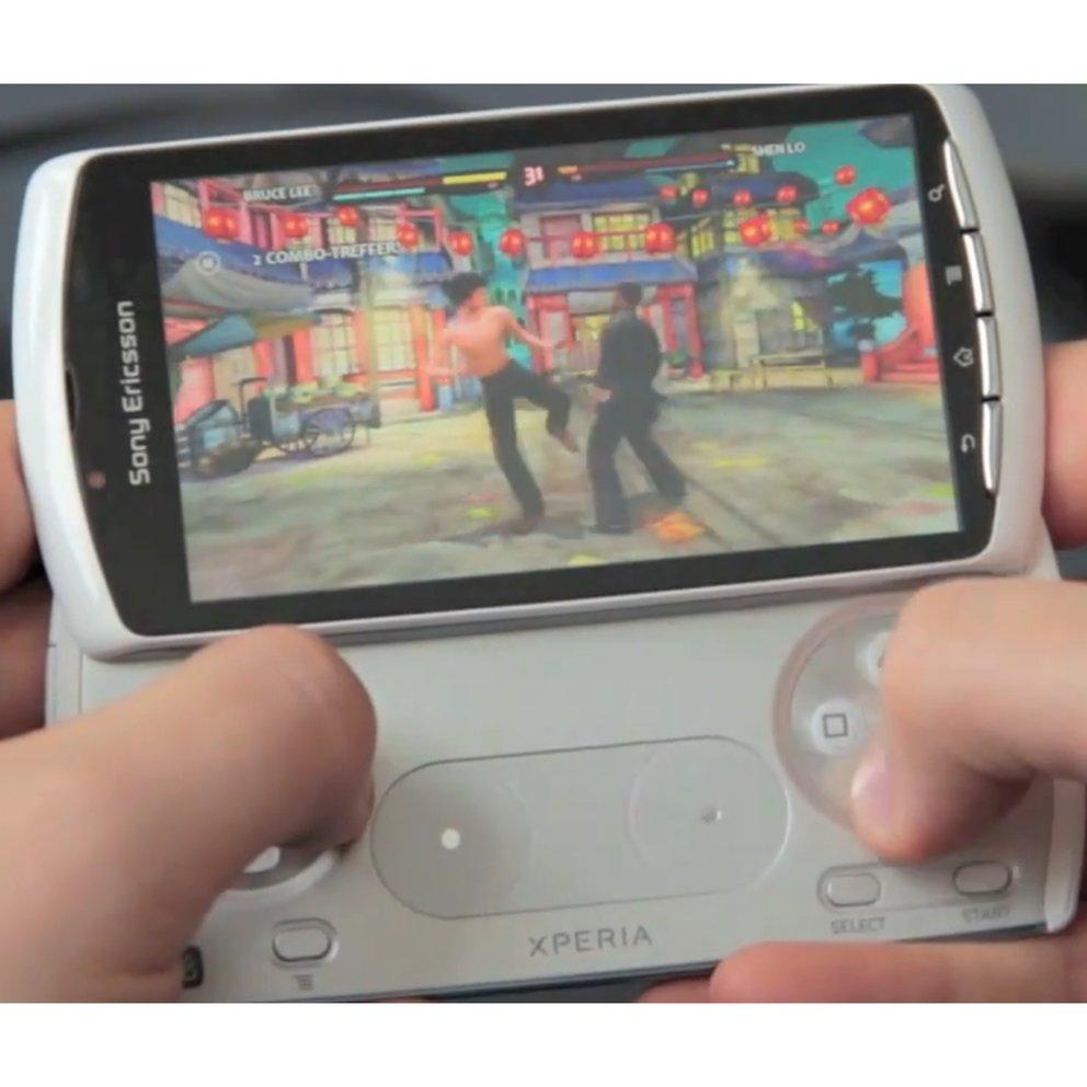 Sony Ericsson Xperia Play im Video: So spielt sich's auf dem PlayStation Phone