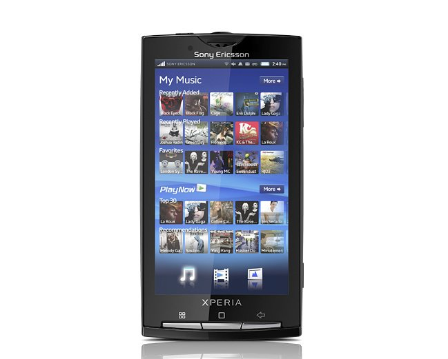 Sony Ericsson Xperia X10: Gingerbread-Update im Sommer