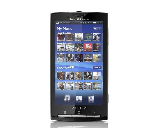 Kein Froyo- oder Gingerbread-Update für Sony Ericsson X10-Serie