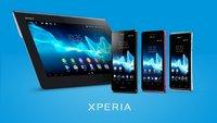 Sony: Xperia T, V, J und Xperia Tablet S offiziell vorgestellt [IFA 2012]