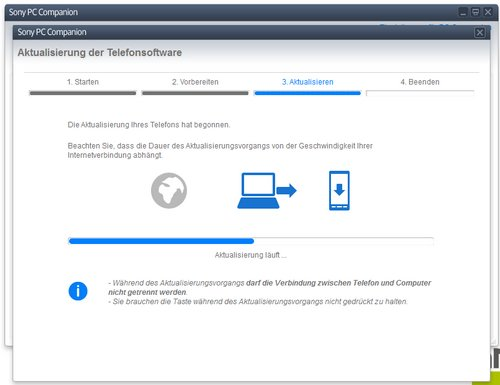 sony pc companion flash firmware