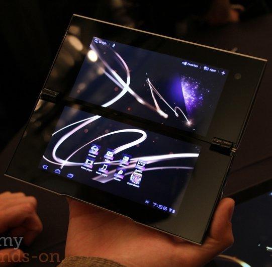 Sony S1 und S2: Erstes Hands-On Video der ungewöhnlichen Tablets