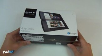Sony Tablet P: Unboxing-Video des Klapp-Tablets