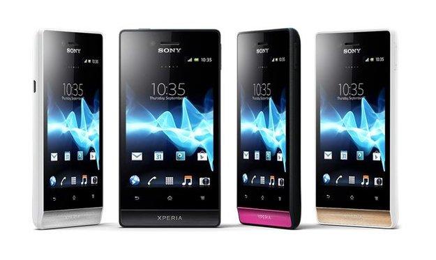 Sony Xperia miro: Neuer Mittelklasse-Androide vorgestellt