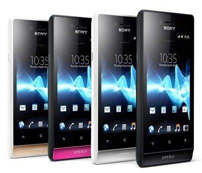 Sony Xperia miro: Einsteiger-Smartphone jetzt vorbestellbar