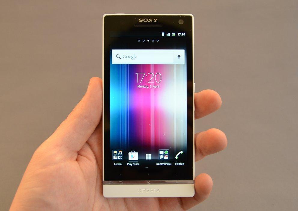 Sony Xperia S: Testbericht zum ersten Sony-Smartphone