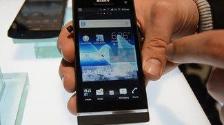 Sony Xperia S: Hands-On-Video vom Ericsson-losen Flaggschiff [CES 2012]