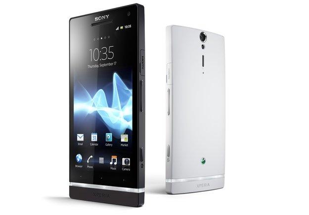Sony Xperia S: 4,3-Zoll-Flaggschiff vorgestellt [CES 2012]