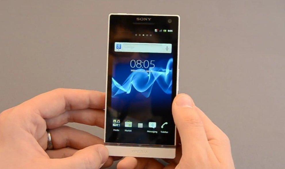 Sony Xperia S: Umtausch bei Display-Gelbstich
