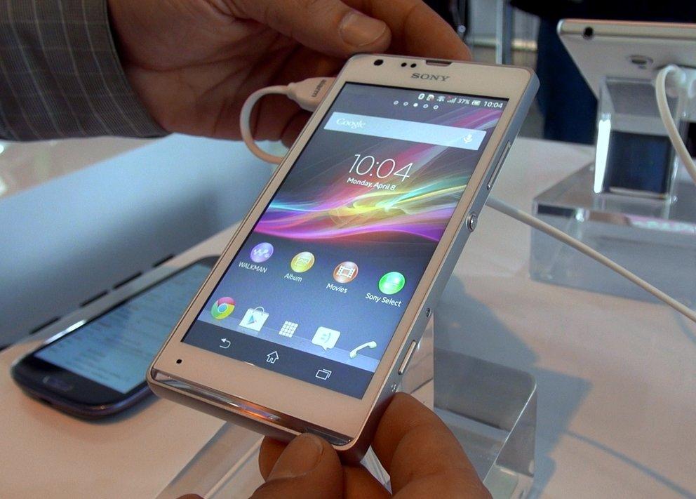 Sony Xperia SP: Schicker Mittelklässler im Hands-On [droidcon 2013]