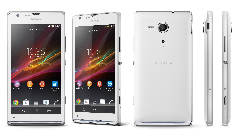 Sony Xperia SP und L: Neue Mittelklasse-Smartphones offiziell ...