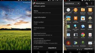 Sony Xperia T: Jelly Bean-Testfirmware mit Yuga-Launcher gesichtet