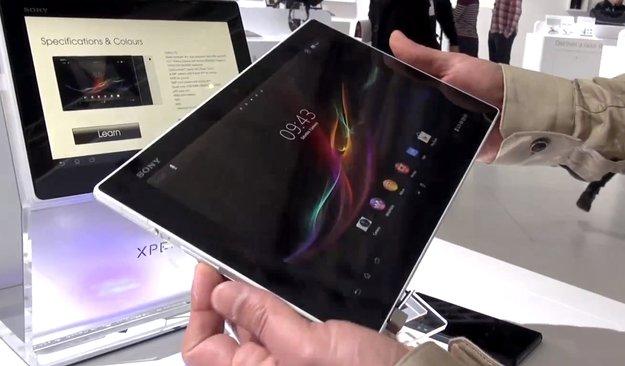 Sony Xperia Tablet Z: Kommt nach Deutschland, Hands-On [MWC 2013]