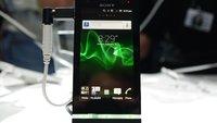 Sony Xperia U: Hands-On-Video zum Mini-Xperia S [MWC 2012]