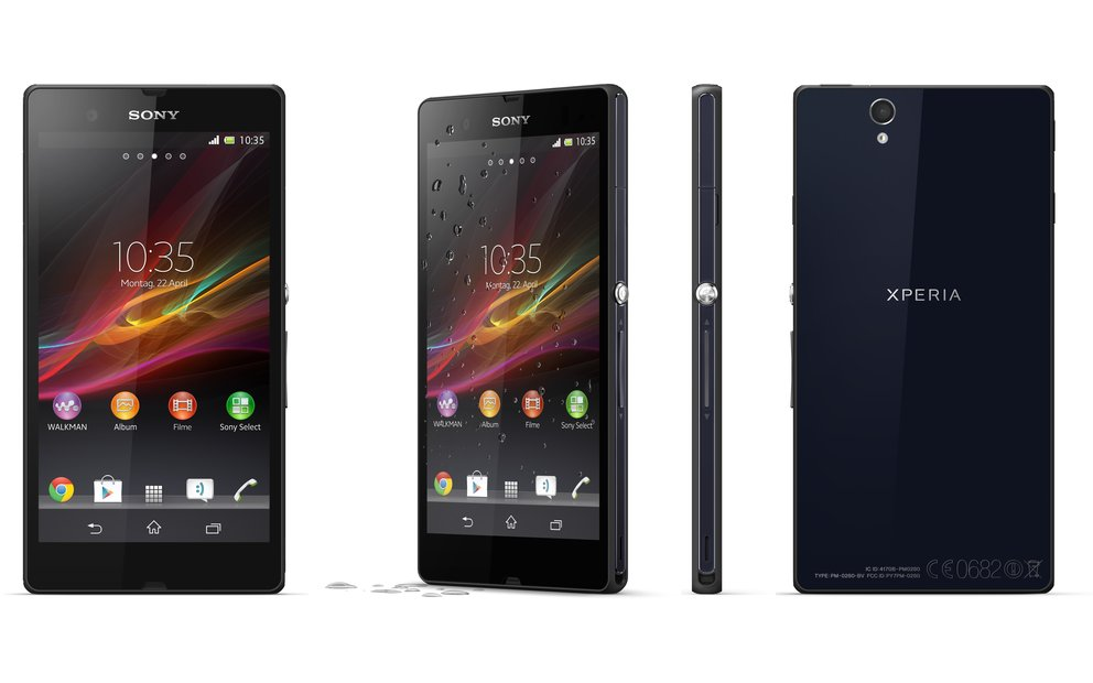 Sony Xperia Z: Android 4.2, Start bei Vodafone &amp&#x3B; O2, Zusammenbau-Video