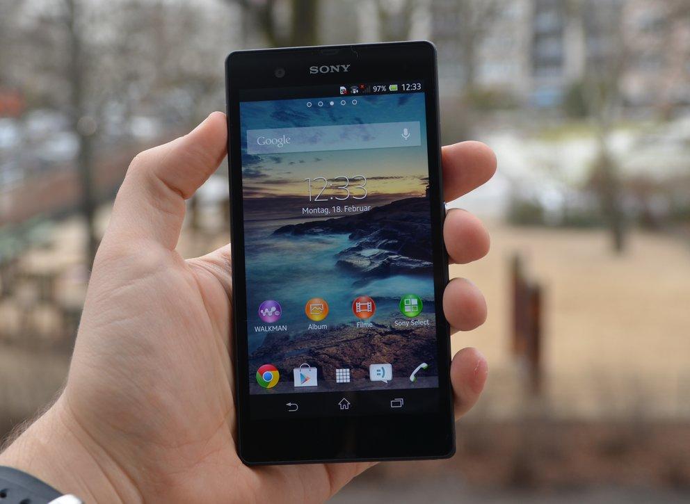 Sony Xperia Z: Hinweise auf schwankende Qualität bei verbauten Displays