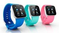 Sony SmartWatch: Android-Armbanduhr zum Koppeln mit Smartphones vorgestellt [CES 2012]