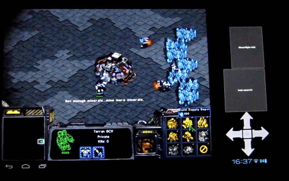 Starcraft: Android-Version mit Touch-Steuerung per Emulator möglich