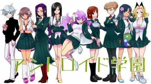 Sweet Android High-school: Smartphone-Hersteller als Manga-Schönheiten