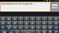 Swype: Update bringt bessere Spracherkennung, downloadbare Sprachpakete