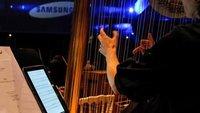 Samsung Galaxy Note 10.1: Orchester ersetzt Notenblätter durch Tablets