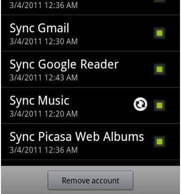Honeycomb Musik-App auf HTC Evo 4 portiert