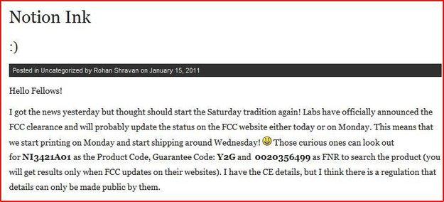 Adam Tablet PC bekommt FCC und CE Genehmigung