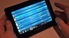 RIM Blackberry Playbook – Vorschau mit deutschem Hands on Video und Bilder