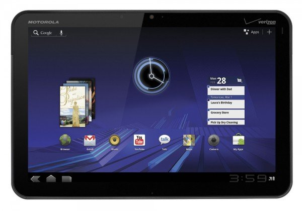 Motorola Xoom Wifi-only in den USA um 589,99 USD vorbestellbar