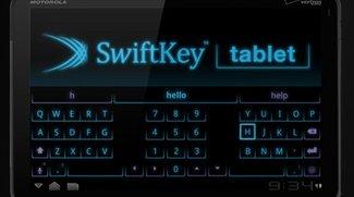 Swiftkey Keyboard für Tablet PCs angepasst