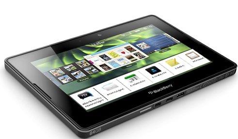 BlackBerry PlayBook ca 500.000 mal verkauft - Email App &amp&#x3B; Android Player folgen erst Ende Sommer