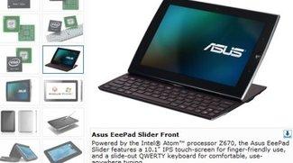 ASUS Eee Pad Slider angeblich ohne Tegra 2 CPU