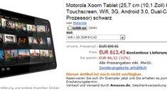 Motorola Xoom - Preissenkung um 86€! *UPDATE*