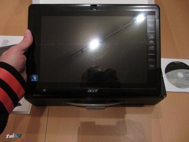 Acer Iconia Tab W500 mit Tastatur Dock im Test - Windows 7 Tablet und Netbook?