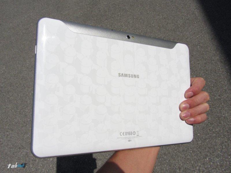 Der Samsung Galaxy 10.1 Limited Edition Test - Das neue dünne Dual Core Honeycomb Tablet in weiß