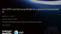 Samsung Presse-Event am 05. Mai: Genaueres zum GALAXY Tab 8.9 und 10.1?