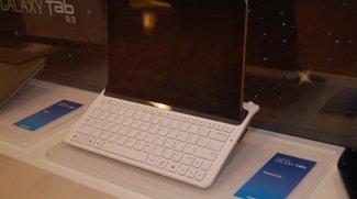 Samsung Galaxy Tab 8.9 TouchWiz Video und Bild von Tastatur Dock