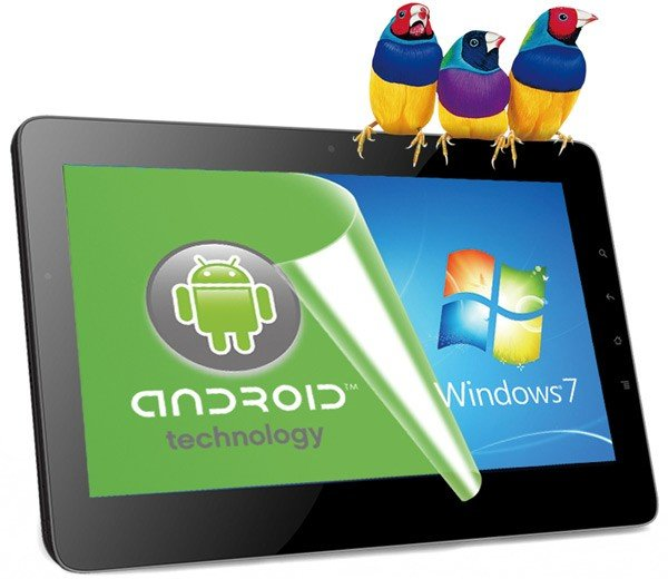 Viewsonic 10Pro kommt mit Intel Oak Trail - Windows 7 und Android