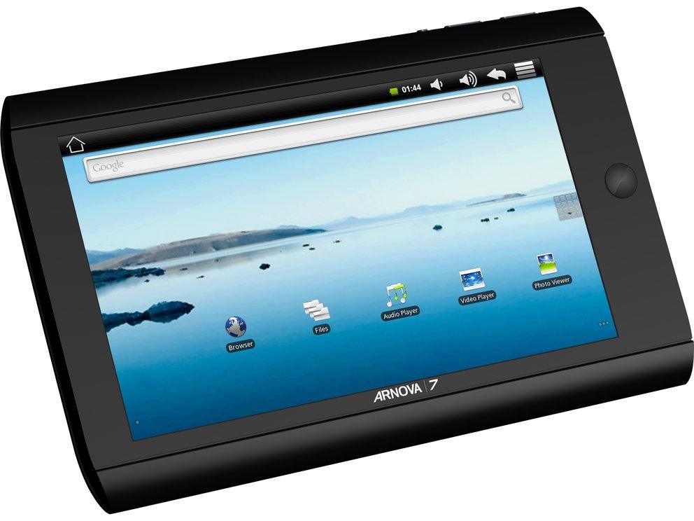 Archos Arnova 7 - Billig Android Tablet für 99€