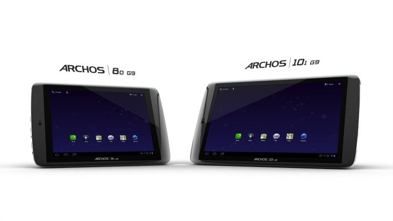 Archos stellt 80 G9 und 101 G9  Honeycomb Tablets mit 1,5Hz Dual Core Prozessor vor (Update: Promo and Hands On Video)