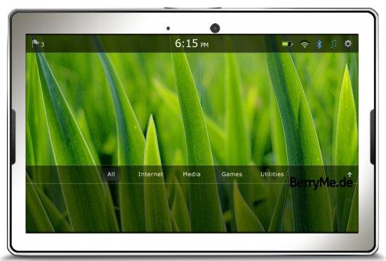 Kommt das 10 Zoll BlackBerry Tablet schon im Sommer?