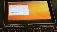"""Ubuntu auf dem Galaxy Tab 10.1 demonstriert - das """"Tabuntu"""" (Video)"""