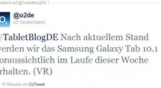 Samsung Galaxy Tab 10.1 noch diese Woche bei O2